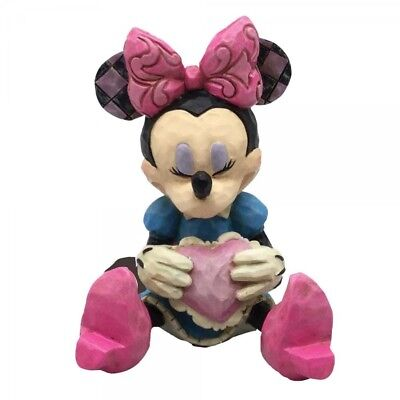 Disney Traditions Minnie Mouse With Heart Mini Figurine 4054285 New & Boxed