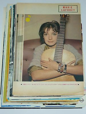 Lot of 31 MARIE LAFORET 1960s/70s Vintage Japan Picture Clippings