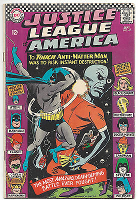 Justice League of America #47 (FN) 1966