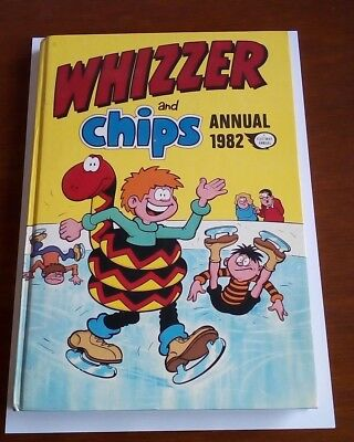 Whizzer & Chips Annual 1982.  Hardback Book.  Vintage.