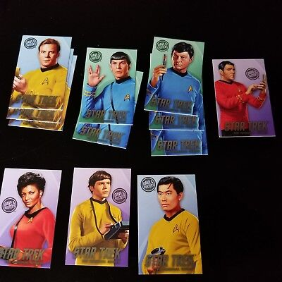 Dave and Busters Star Trek Cards Heroes & Villains Coin Pusher Game