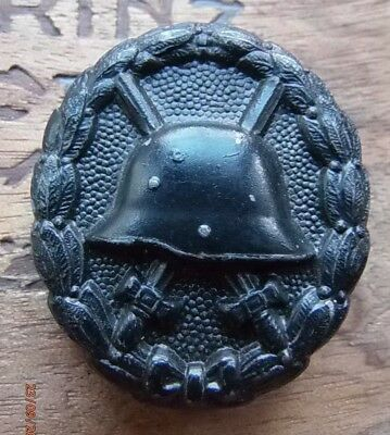 Original German WW1 1914-1918 Wound Badge in Black