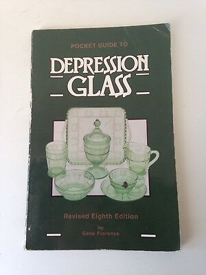 Pocket Guide to Depression Glass by Gene Florence Revised 8th Edition