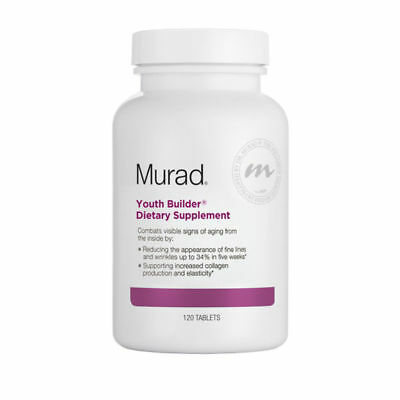 Murad YOUTH BUILDER DIETARY SUPPLEMENT 120 Tablets (authentic) Exp 02/19