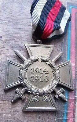 Original German WW1 1914-1918 Hindenburg Cross of Honour medal
