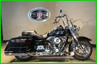 Touring  2012 Harley-Davidson FLHR Road King Midnight Pearl