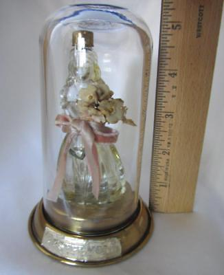"YESTERYEAR Perfume Lady in Glass Dome By Babs  Circa 1939   5-1/2"" Tall  NOVELTY"