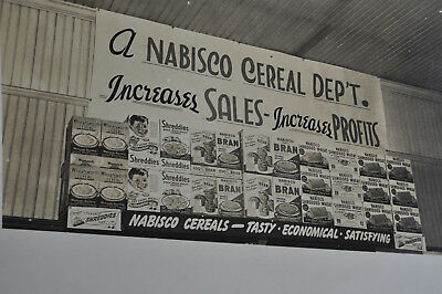 A NABISCO Cereal Department Photo - Tasty-Economical-Satisfying