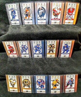 2018-2019 Upper Deck Tim Hortons Collector's Series Game Day Action