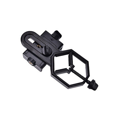 Cell Phone Adapter Holder Mount for Binocular Monocular Spot Scope Telescope FA