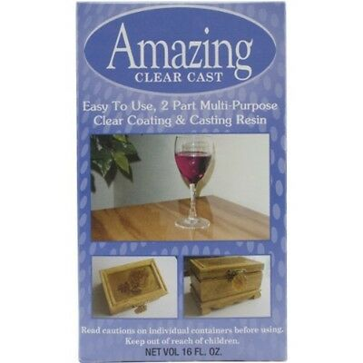 Amazing Casting Products Various Clear Cast Kit 16 Oz