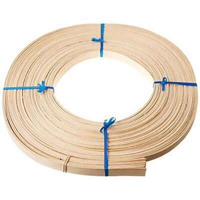 Commonwealth Basket Flat Reed, 5/8-inch 1-pound Coil, Approximately 120-feet -