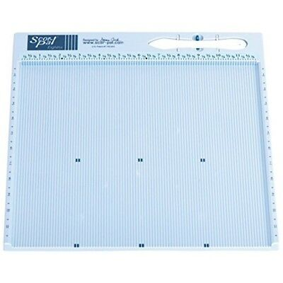 """Scor-pal Eighths Measuring And Scoring Board, 12"""" By 12"""", 1/8"""" Space Grooves -"""