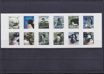 066440 Pinguine Penguins British Antarctic Territory 434-45 MH ** MNH Year 2006