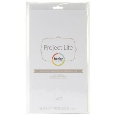 American Crafts Project Life Page Protectors, Multi-colour, 0.63 x 19.68 x -