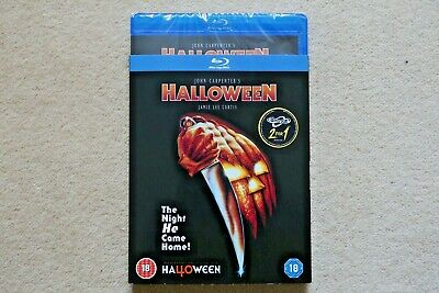 BLU-RAY  HALLOWEEN ( with sleeve )   NEW SEALED GENUINE UK STOCK