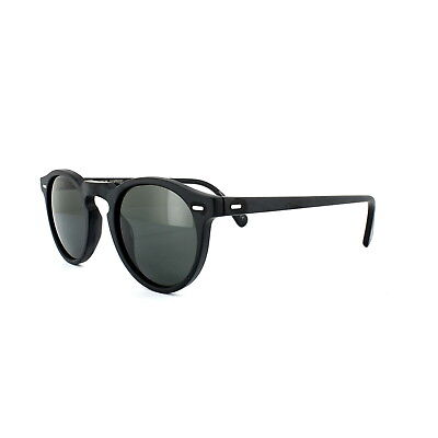 7060a68a632 Oliver Peoples Sunglasses Gregory Peck 5217 Black Midnight Express  Polarized VFX