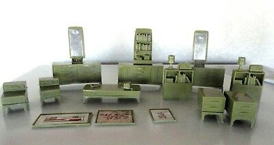 The Imagination Doll House furniture Marx Lot