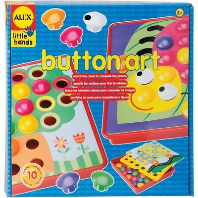 Early Learning Button Art Kit - Alex Children Toys