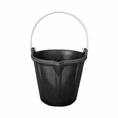 WOLFPACK 10010003 Cubo Obra Goma Con Pico Wolfpack 10 (Rubberbuck Nr51 (12L))