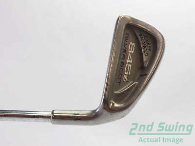 Tommy Armour 845S Silver Scot Single Iron 4 Iron Steel Regular Right 37.5 in