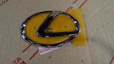 02-07 OEM NEW LEXUS LX470 REAR TRUNK CHROME WORD EMBLEM 03 04 05 06 07