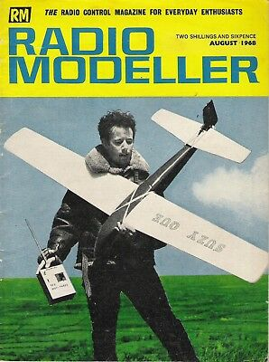 Radio Modeller Magazine. Volume 3, Number 8. August, 1968. Strictly for Soarers.