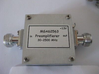 Ultra low noise amplifier with MGA62563, nach Franco Rota, I2FHW