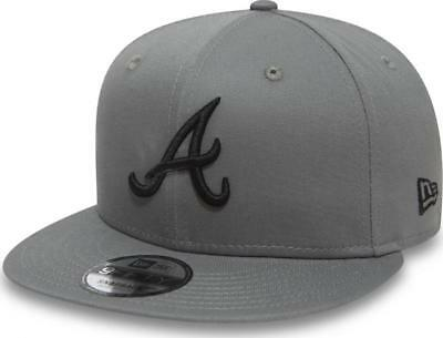 3563f526a6b3 New Era Atlanta Braves League Essential 9fifty 950 Youth Snapback Cap Kids