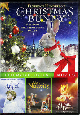 Holiday Collection NEW DVD Christmas Bunny Littlest Angel Nativity Child is Born