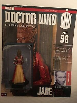 Bbc Series Doctor Who Dr Issue 38 Jabe Eaglemoss Figurine + Magazine
