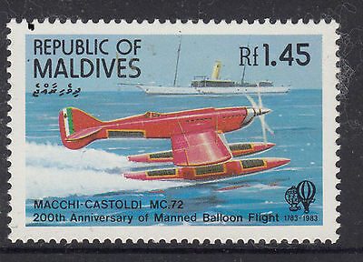 Maldives 1983 1.45R Manned Flight MUH