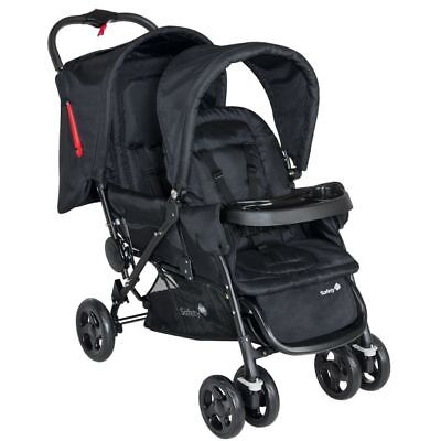 Safety 1st Carrito de Bebé Doble Duodeal Color Negro Metal y plástico 11487640