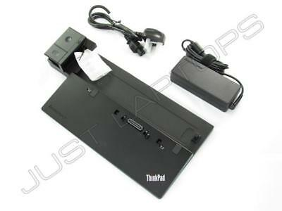 New IBM Lenovo ThinkPad T450 Pro 40A1 Docking Station Inc 90W PSU 40A10090UK