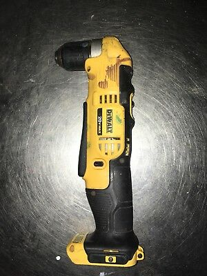 "Dewalt DCD740 3/8"" VSR Cordless Right Angle Drill/ Driver With Case"