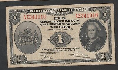 1 Roepiah From Netherland Indies 1943