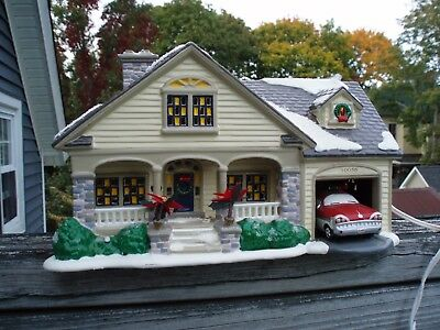Dept 56 Snow Village The Brandon Bungalow #54918 Retired Euc