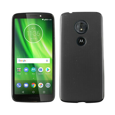 For Motorola Moto G6 Play XT1922 - Skin Cover TPU Case Cover Black