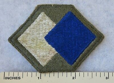 WW2 Vintage 96th INFANTRY DIVISION PATCH US ARMY Cut Edge ORIGINAL Used & Worn