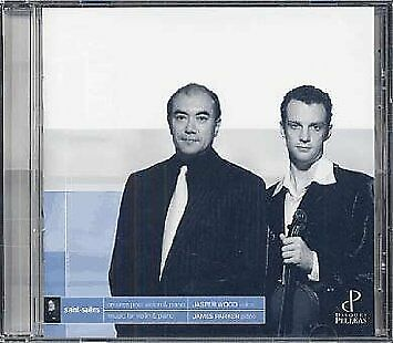 Audio Cd Camille Saint-Saens - Music For Violin And Piano - Jasper Wood / James