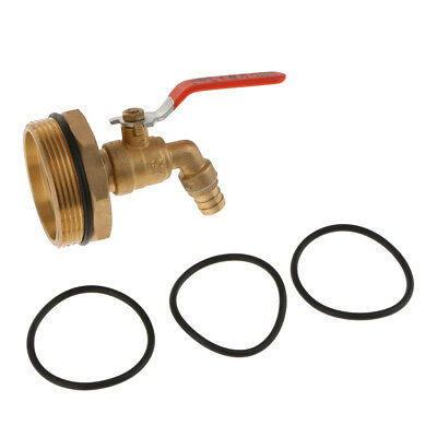 2inch Copper Ton Barrel Replacement Outlet Tap Faucet for 200L Oil Water