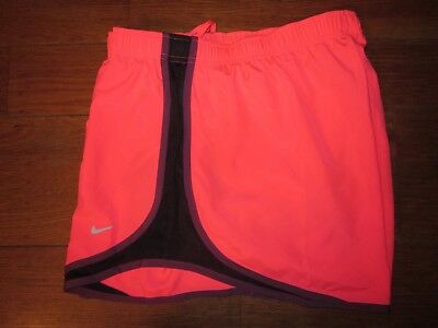 Nike Dri-Fit Women's Running/Workout Shorts, Pink/Black/Berry, X-Large - BNWT