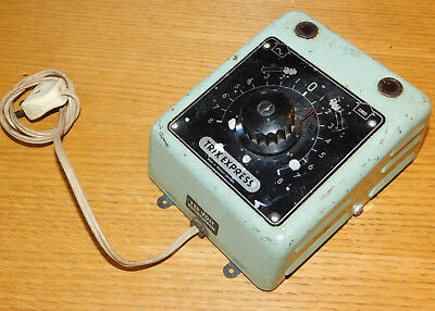 VINTAGE Transformateur TRIX EXPRESS 12v-14v 1A CIRCUIT TRAIN Transformator TRAFO