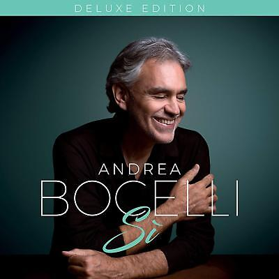 ANDREA BOCELLI 'SI' Deluxe Edition CD (Bonus Tracks) (26th October 2018)