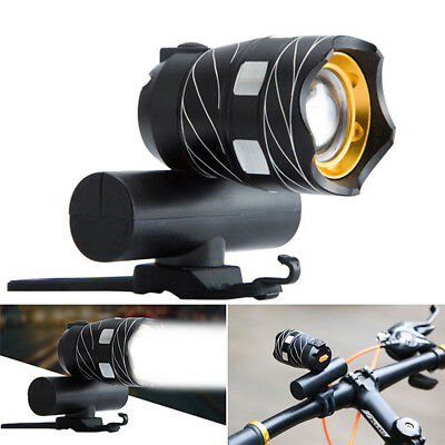 USB Rechargeable XML T6 LED Bicycle Bike Front Lamp Cycling Head Light Torch CHZ