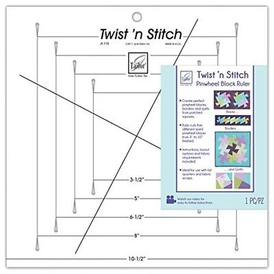 June Tailor Twist 'n Stitch Ruler