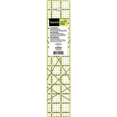 Dritz Omnigrip Non Slip Quilter's Ruler, 2-1/2 By 12-1/2-inch - Non Quilters