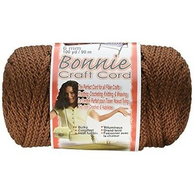 Pepperell Polyolefin Fiber Bonnie Macrame Craft Cord 6 Mmx 100 Yard-almond -