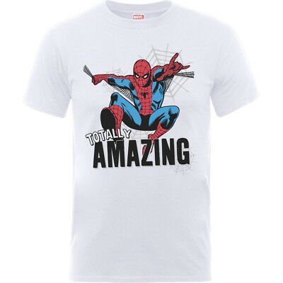 T-Shirt Marvel Comics - Amazing Spider-Man White (T-Shirt Bambino 5/6 Anni)