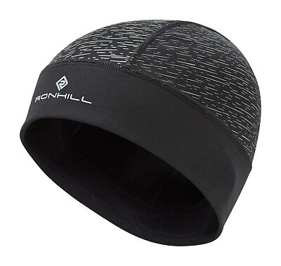 Ronhill Afterlight Beanie Running Training Outdoor Reflective Thermal Cap Hat